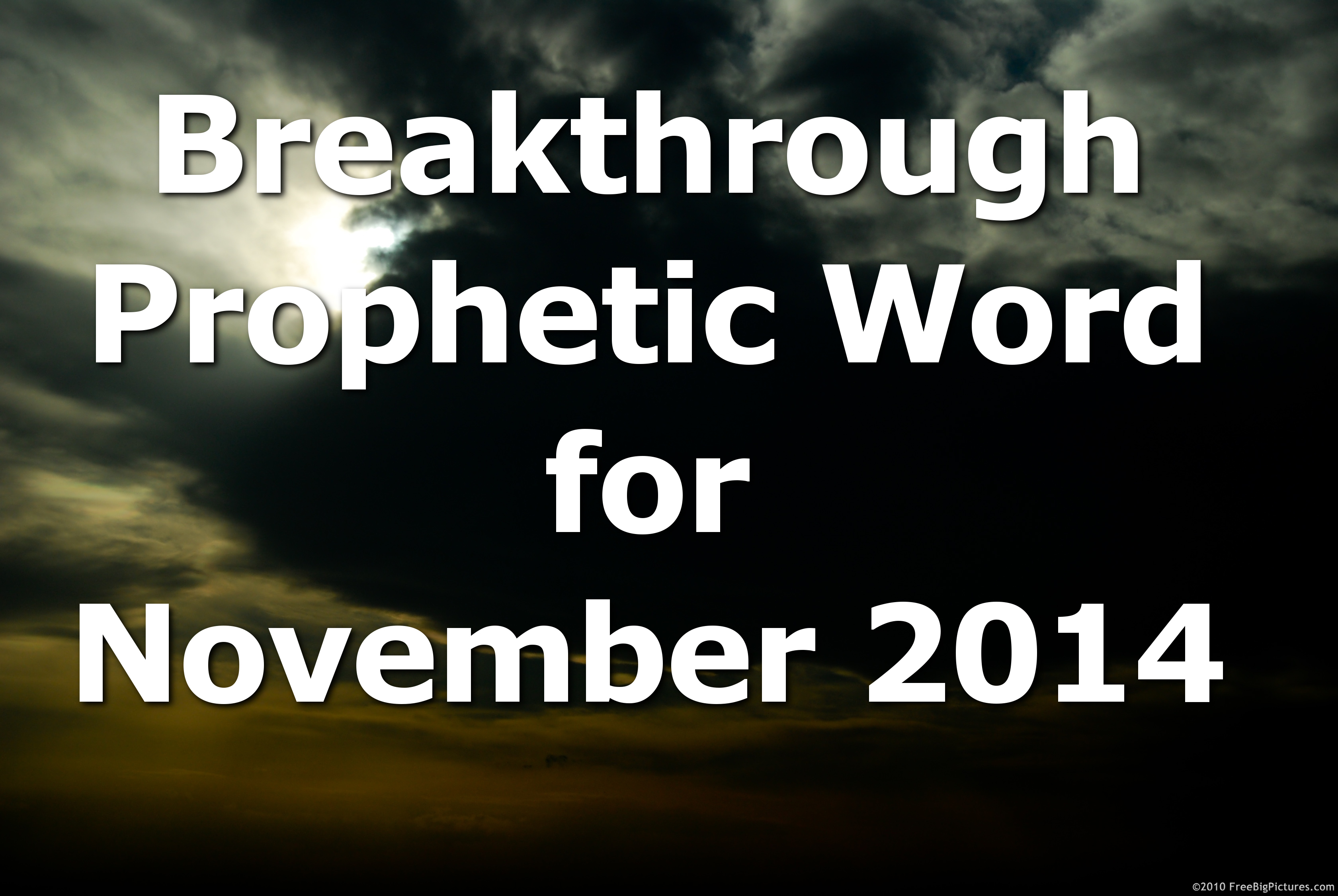 100+ Prophetic Word For Today – yasminroohi